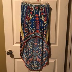 Billy by flying tomato hi-low skirt size small